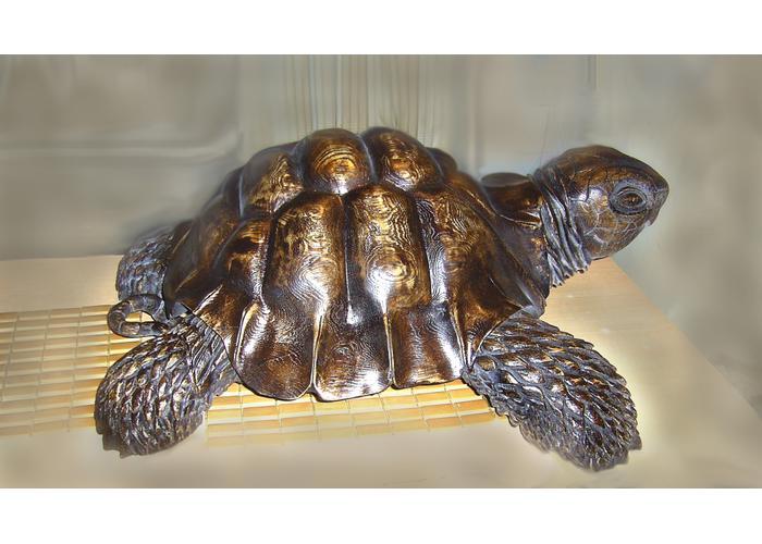 Как из миски сделать черепаху